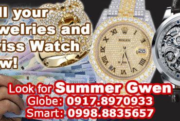 Jewelry, Diamond & Swiss Watch Buyer. Contact us!